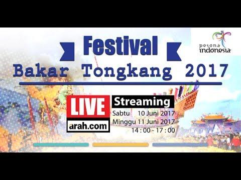 Persiapan Festival Bakar Tongkang 2017