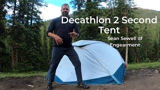 Decathlon Quecha 2 Seconds EASY Tent - NEW Quick Set Up Tent