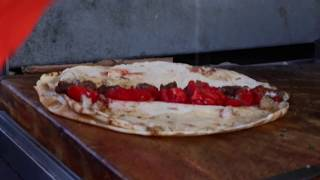 preview picture of video 'Rolling Meat Sandwiches on Tyre's Old Port... For Breakfast'