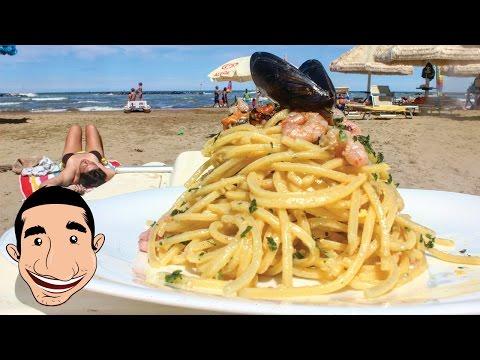 SEAFOOD SPAGHETTI CARBONARA | Seafood Pasta Recipe feat MY DAD