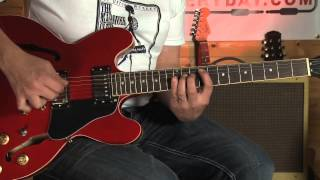 How to play - Everlong - Foo Fighters - verse - guitar lessons