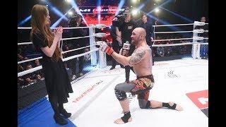 Валерий Мясников сделал предложение своей девушке прямо на турнире!