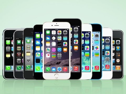 A Brief History of the iPhone (2007-2015)
