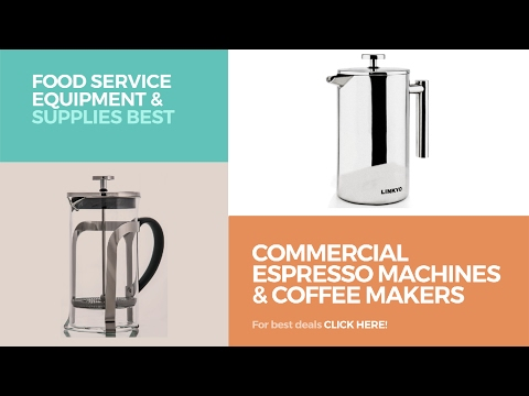Commercial Espresso Machines & Coffee Makers // Food Service Equipment & Supplies Best Sellers