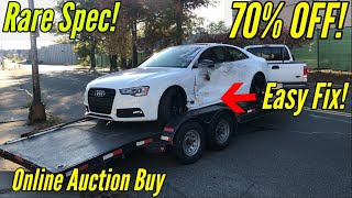 Copart: I Bought the Cheapest Auction Audi S5 with Minor Damage! Fixed in Minutes inspire by Samcrac