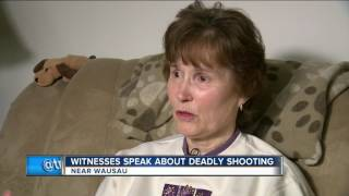 Witnesses speak about deadly Wausau shooting