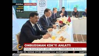 İstanbul Basın Toplantısı – Kanal 24