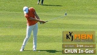 [Slow HD] CHUN In-Gee Iron With Practice Golf Swing (4)_KLPGA Tour