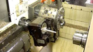 Thread Whirling on a CNC Swiss Lathe