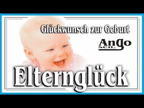 ♫ Glückwunsch zur Geburt ♫ - Ein kleiner Engel hat das Licht der Welt erblickt - Elternglück Baby