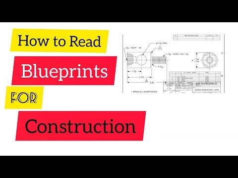 How to read blueprint for construction    blueprint reading basics ...