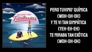 Rauw Alejandro ❌ Farruko   Fantasías (Unplugged Letra)