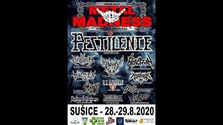 Video YTIVARG (CZ) # Metal Madness vol.7 - Sušice - 2020.08.29