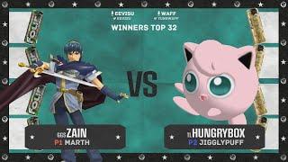 FOUR LOKO FIGHT NIGHT - Zain(Marth) VS Hungrybox(Jigglypuff) Winners Top 32