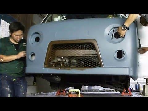 Как в Японии копируют УАЗ 4х4 «Буханка»