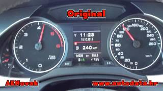 Audi A4 2.0 TDI 105kW (143ks) 2010g EDC17cp20  - AENovak Chip Tuning