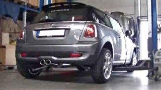 MINI Cooper S (R56) mit Sportauspuff ESD von Supersport
