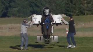 Martin Jetpack Climbs 5000 Feet Above Sea Level