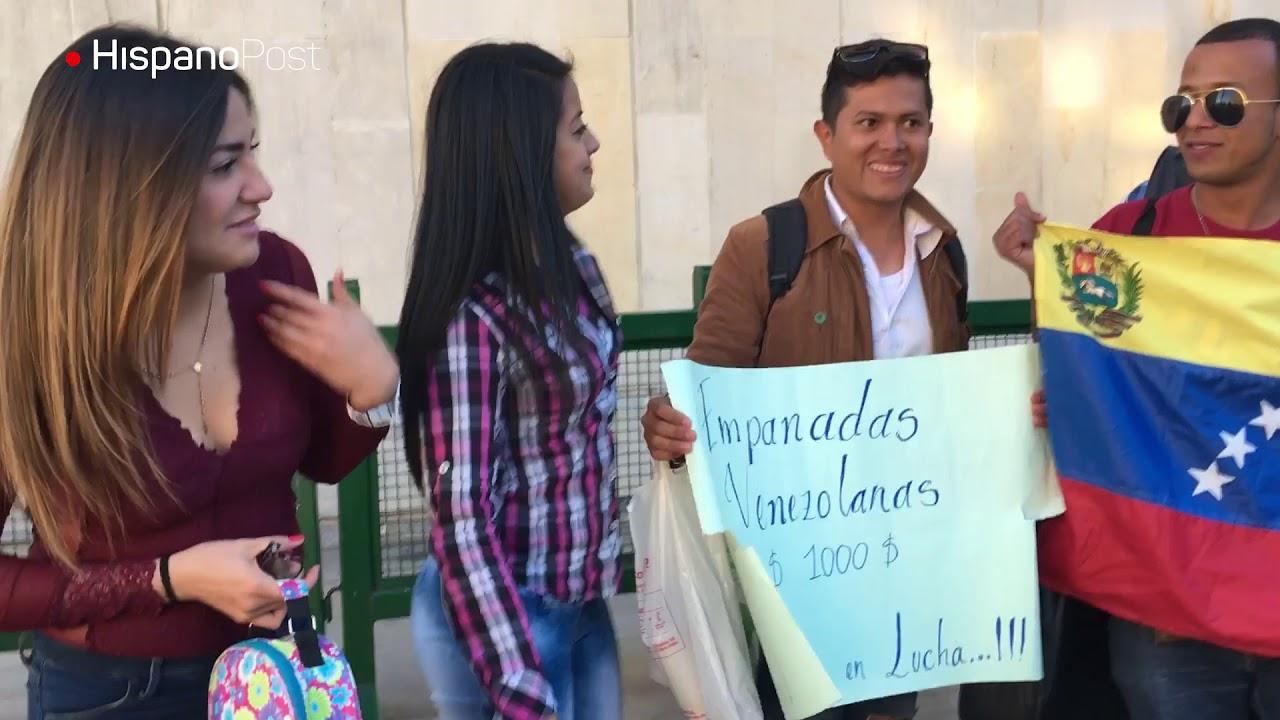 """""""Víctimas del conflicto"""" en Venezuela buscan refugio en Bogotá"""