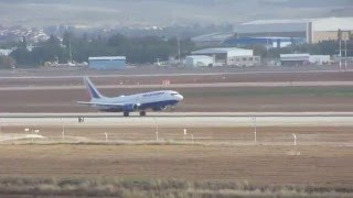 preview picture of video 'A flight taking off in Ben Gurion Airport, Israel'