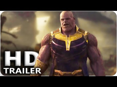 AVENGERS INFINITY WAR Official Trailer 3 - 1 (Extended) Marvel (видео)