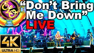 """4K Jeff Lynne's ELO Electric Light Orchestra """"Don't Bring Me Down"""" 9/10/2016 @ Hollywood Bowl"""