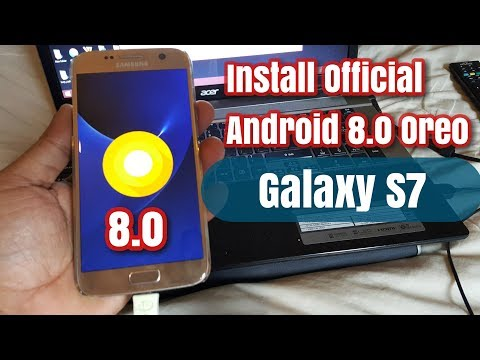 Update Samsung Galaxy S7 SM-G930T to Android 8 0 0 Oreo