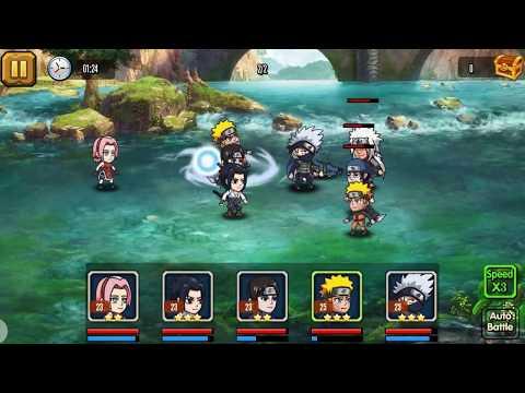 Vidéo Ninja Heroes - Storm Battle: best anime RPG
