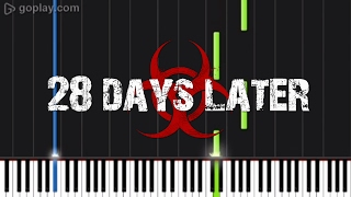28 Days later theme - Piano Tutorial