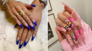 Gorgeous Acrylic Nail Ideas To Make Your Nails Pop | The Best Nail Art Designs