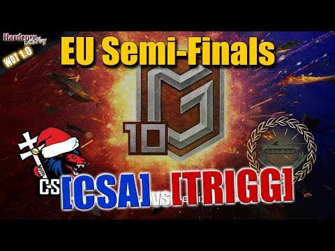 World Of Tanks Global Map Season 10th Semifinals Day 2 Csa Vs