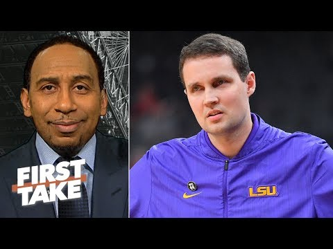 Stephen A. calls LSU's Will Wade the 'biggest fool on the planet' for FBI wiretaps | First Take