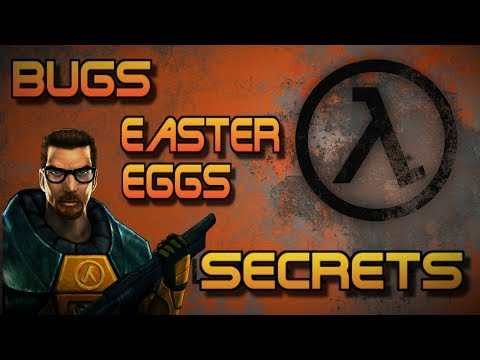 [Half-Life] - ВСЕ Пасхалки, Секреты, Фишки и Баги |#1| (All Secrets, Easter Eggs, Bugs)