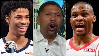 Jalen Rose reacts to Morant doing Vince Carter's iconic dunk & Westbrook's ejection   Jalen & Jacoby