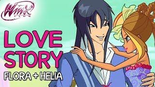 Winx Club – Flora And Helias Love Story [from Season 2 To Season 7]
