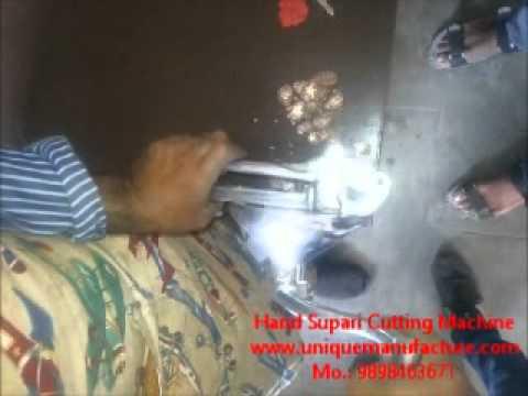 Manual Hand Supari Cutting Machine