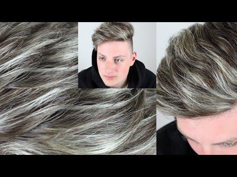 Die Masken für die Wiederherstellung des Haares für die Männer