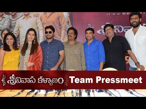 Srinivasa Kalyanam Movie Team Pressmeet