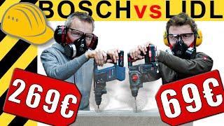 69€ PARKSIDE BOHRHAMMER schlägt BOSCH?!? | WERKZEUG NEWS #41