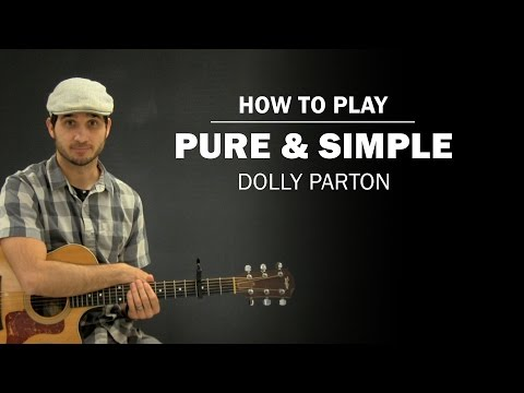 Pure And Simple (Dolly Parton) | How To Play | Beginner Guitar Lesson Mp3