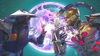 Injustice 2 - Raiden Vs Brainiac All Intro Dialogue/All Clash Quotes, Super Moves