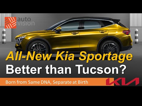 All-New 2022 Kia Sportage Coming!  Is It Better than Hyundai Tucson?  Tucson vs Sportage Comparison