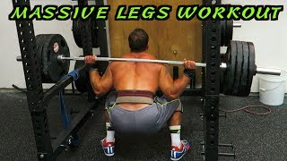 Advanced MASSIVE Legs Workout | Size AND Strength! by Anabolic Aliens