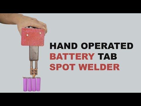 Lithium Ion Battery Tab Spot Welder
