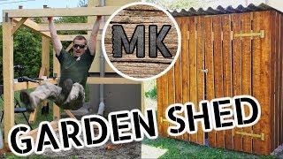 Easy DIY Garden Shed
