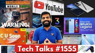 Tech Talks #1555 - BGMI Warning , Xiaomi Civi, iQoo Z5 India, Apple Leaks, Galaxy F42 5G, RealmeUI30