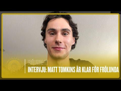Youtube: NYFÖRVÄRV: Målvakten Matt Tomkins är klar för Frölunda