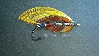 Weekend Fly Tying Stream: Faugh a ballaugh! The Irish (salmon flies) are coming! Pryce-Tannat