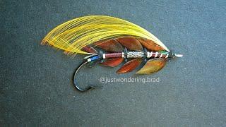 Weekend Fly Tying Stream: Faugh a ballaugh! The Irish (salmon flies) are coming! Pryce-Tannat