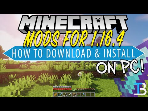 How To Download & Install Mods for Minecraft PC (1.16.4)